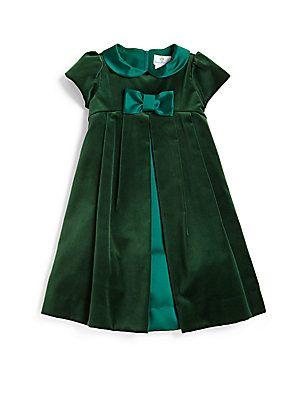 Florence Eiseman Toddler's & Little Girl's Velvet Bow Dress @ Sax Fifth Avenue