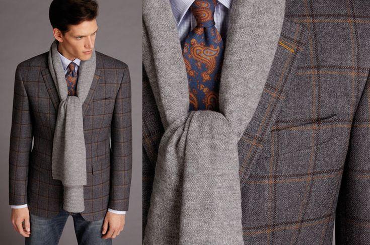 Твидовый пиджак: прекрасный выбор для благородного и сильного мужчины