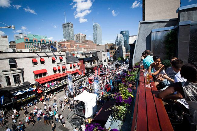 Montreal's Crescent Street To Host A Summer Garden Terrasse Party This Week | MTL Blog