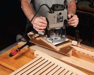 Ah! E se falando em madeira...: artigo: Construindo venezianas