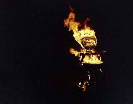 Maarten Baas process... what's more fun than sitting in your furniture? Burning it to a crisp!