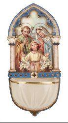 Holy Family Luminous Holy Water Font.