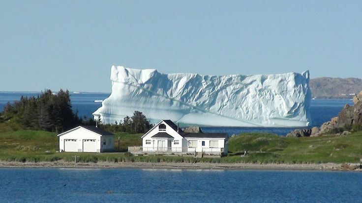 Iceberg, Little Harbour, Twillingate, Newfoundland - Photo by Paul LeDrew <3