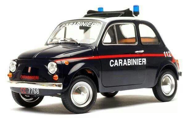 Fiat 500 Carabinieri