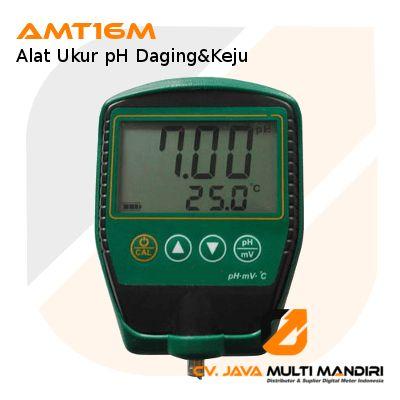 Alat Ukur pH Daging&Keju AMT16M