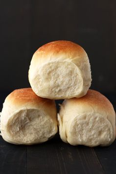 ULTIMATE dinner rolls! Golden brown, light, fluffy, and FOOLPROOF!