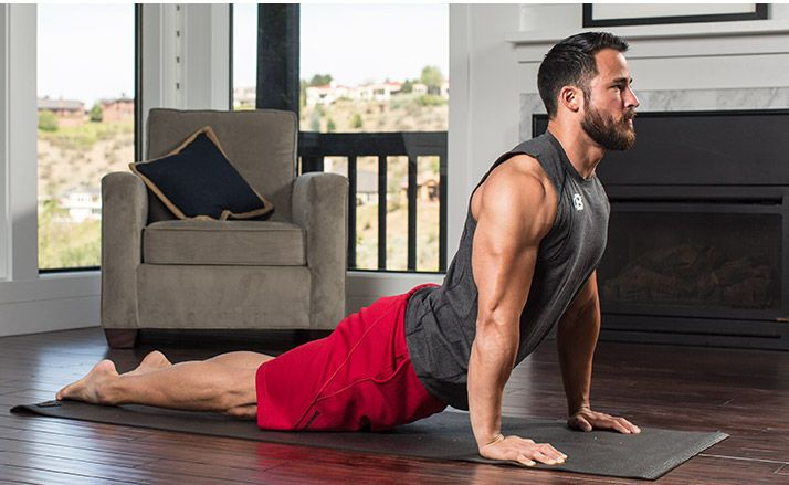 Don't be afraid to be that guy in the yoga class. It just might be the best decision you ever made for your muscles and overall athletic development!