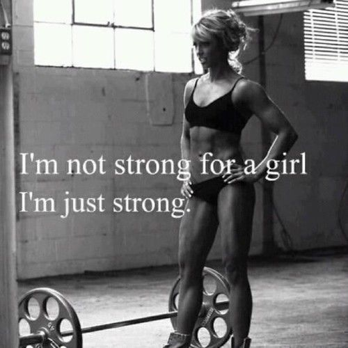 Just strong!