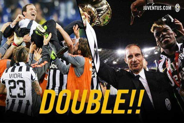 FC Juventus : Scudetto & Coppa Italia. One more to go --> Champions League