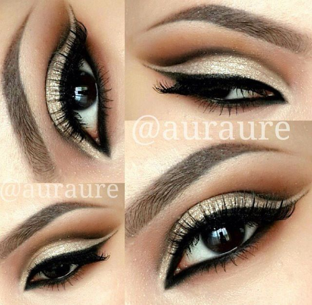 Basic eye makeup. Retro look. : Makeup : Pinterest : Retro ...
