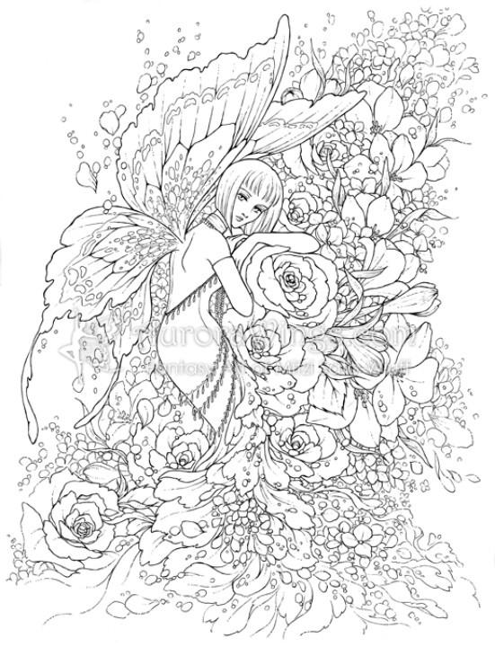 Contemplative Garden Fairy