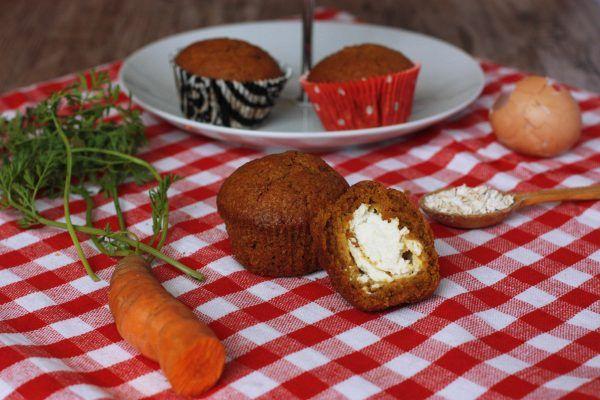 mrkvove muffiny s tvarohom - tinkine recepty