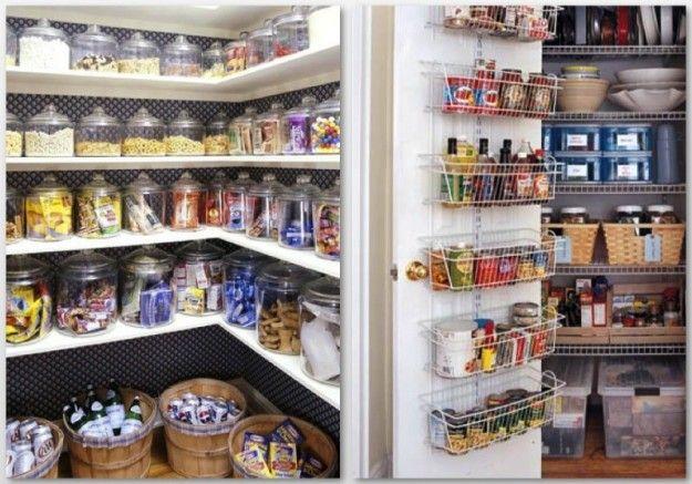 Come organizzare la dispensa della cucina, tante utili idee [FOTO]