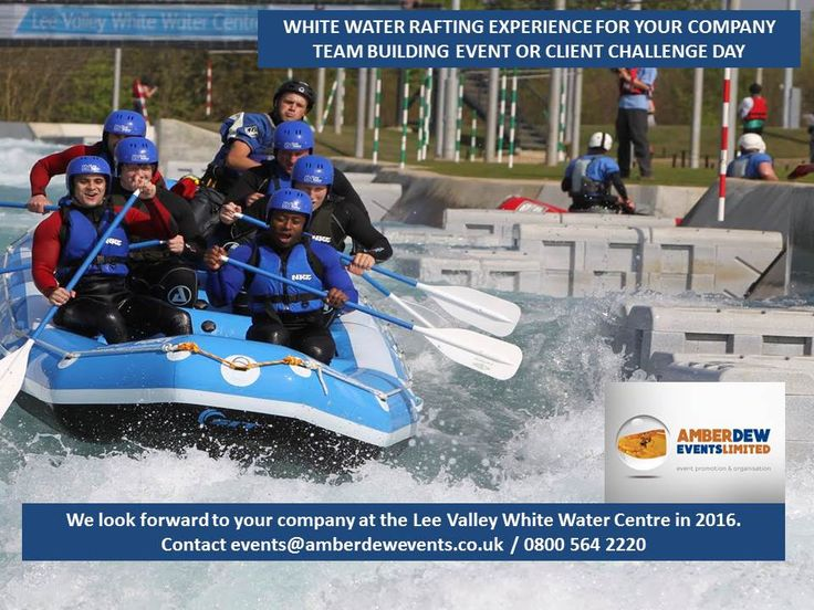 One of our two Gold Medal winning Slalom Canoeists Tim Baillie and Etienne Stott will be your hosts for these unique events. This is a unique thrill seeking opportunity to go white water rafting down the Olympic Course at Lee Valley, the scene of the 2012 Olympic Medal rush for Team GB.