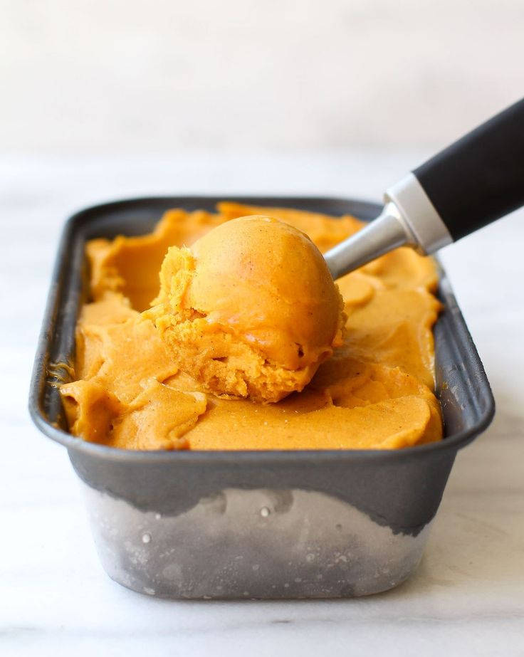 Pumpkin Pie Nicecream