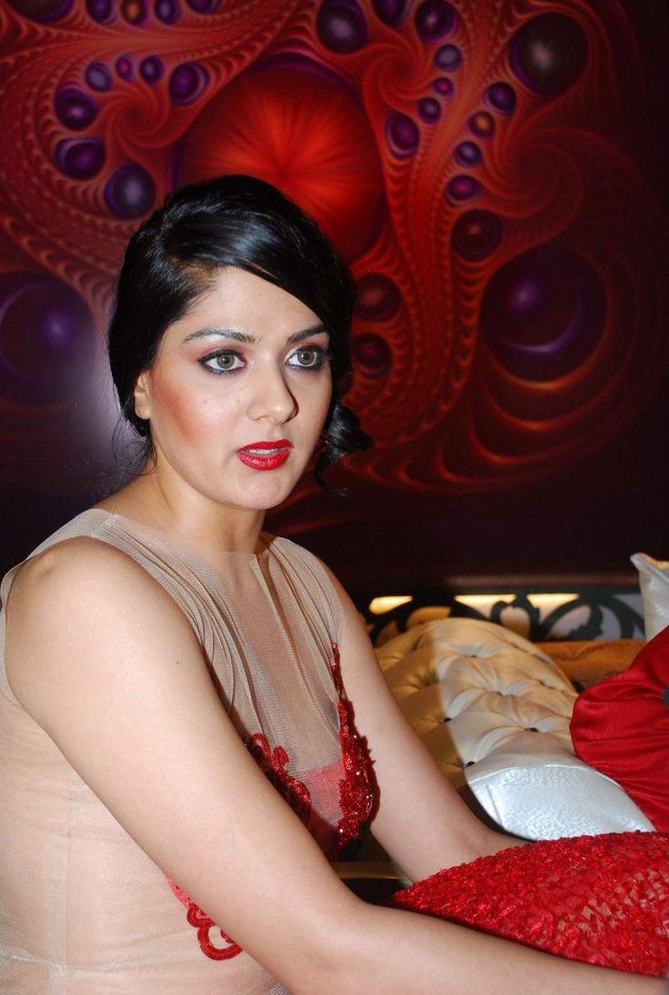 Actor Ashutosh Rana and South actress Sakshi on location of Ismail Darbar`s directorial debut at Filmalaya in Mumbai on Feb 24