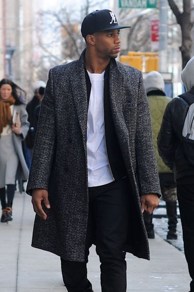 Know that black men look good in clothes too! - NYFW Fall 2015: Cruz Street Style - mens branded clothing, mens wholesale clothing, mens clothing sites
