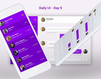 "Check out new work on my @Behance portfolio: ""Daily UI Challenge - Day 9"" http://be.net/gallery/54751087/Daily-UI-Challenge-Day-9"
