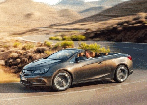 Opel cascade is a stylish four-seat convertible with elongated siuletom and high quality soft top that will go on sale early next year. According to early announcements cascade is a medium sized sedan not only by its size (length 4697mm, width 1840mm without side mirrors) but also for its attractiveness and first-class technologies and options, it
