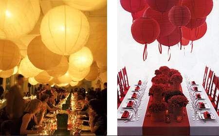 Kulaté papírové lampiony | LEVNELAMPIONY.EU - létající vodní dekorativní lampiony přání a štěstí