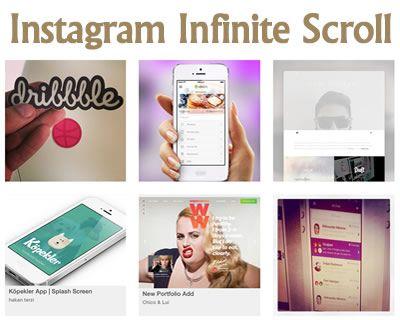 http://jquery-plugins.net/instagram-infinite-scroll