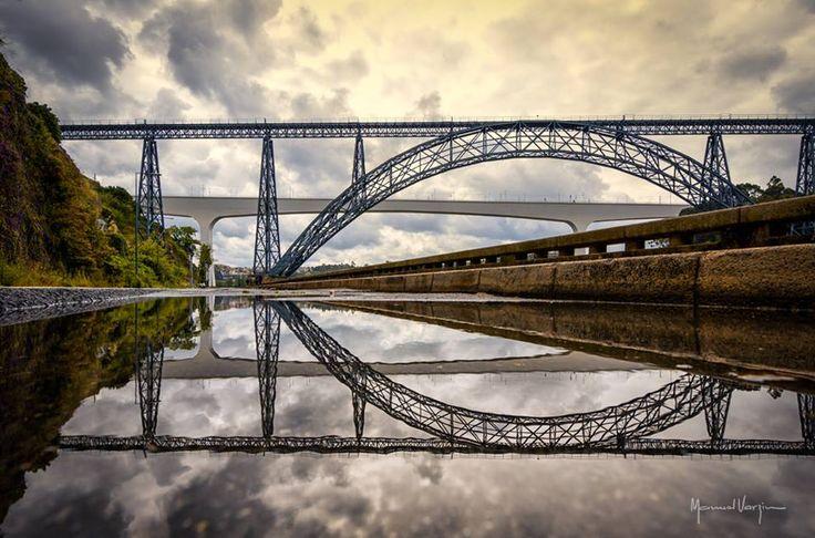 Ponte D. Maria e Ponte de S. João - Porto - Portugal. - f. Manuel Varzim