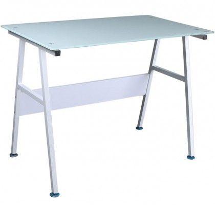 Dimensiones:  - ancho: 100 cm.  - profundo: 60 cm.  - alto: 60 cm.  Ideal para el ordenador.  Mesa auxiliar de aluminio para despacho, comedor, o dormitorio. Ligera y resistente.