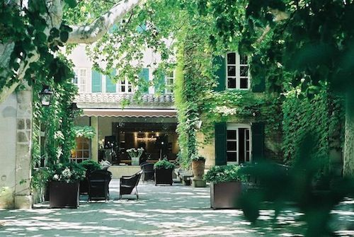 le prieure in avignon: five star hotel with gastronomic restaurant