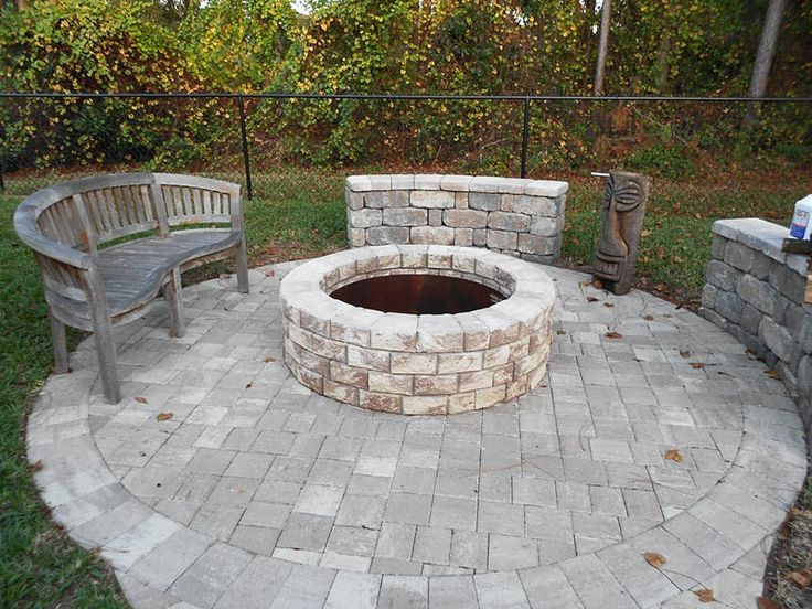 Simple Outdoor Fire Pit Kits Design ~ http://lovelybuilding.com/the-decoration-of-outdoor-fire-pit-kits/