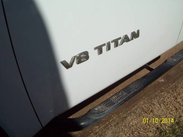 Used 2008 Nissan Titan for Sale ($14,000) Odessa, TX