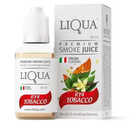 Liqua eLiquid - RY4 Tobacco 30ml Brisbane Australia
