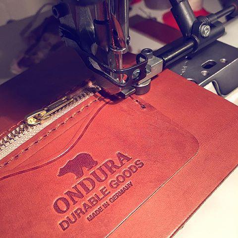 work in progress. Classic Biker Wallet. #ondura #onduradurablegoods…