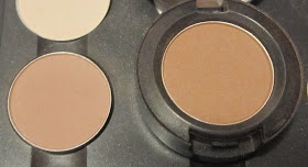 My Makeup Issues: MAC Wedge vs. Cork Eyeshadow - Smackdown and Swatches
