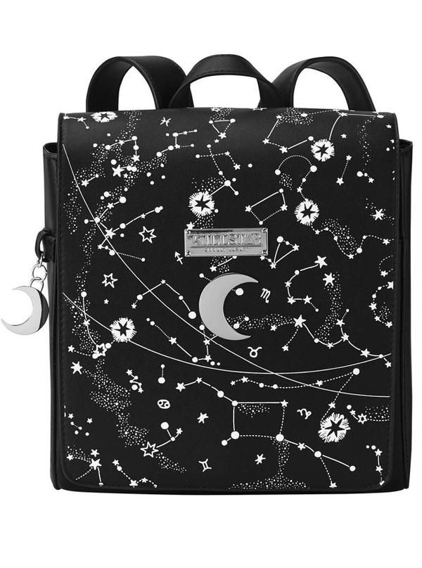 Emo Gothic Alternative Cotton Shoulder Shopper Twisted Punk Disney Tote Bags
