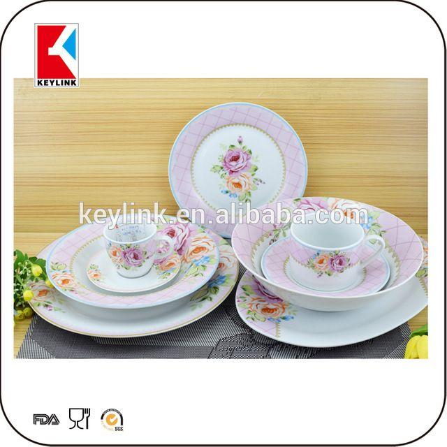 Ceramic Luxury Corelle Procelain Dinner Set Prices Arcopal Pakistani Porcelain Dinner Set