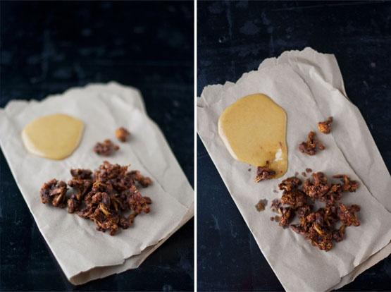 | BBQ Cauliflower & Honey Mustard | http://www.immerwachsen.com/2012/02/29/bbq-cauliflower-honey-mustard/ #raw #vegan #glutenfree