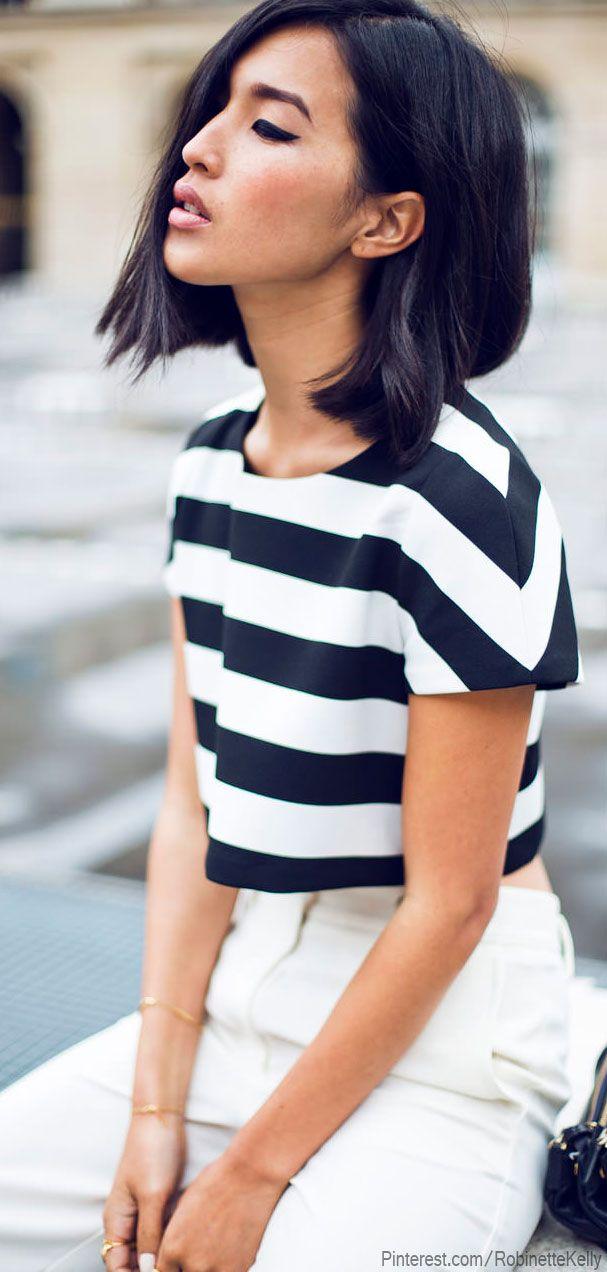 Black and White Street Style #streetstyle #fashion #style #monochrome