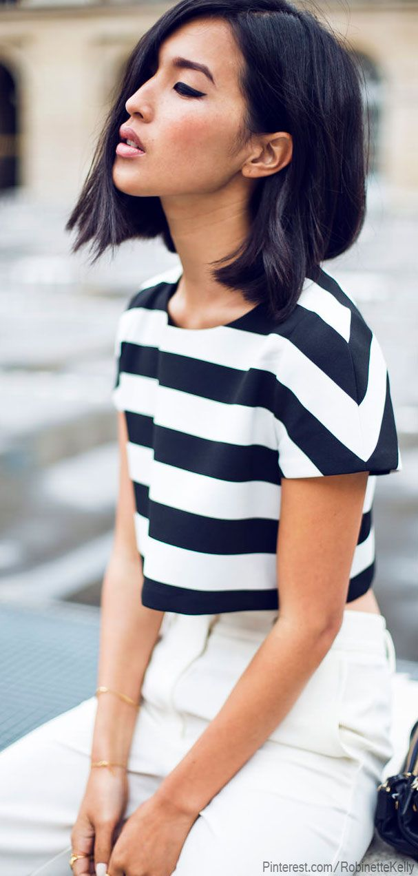 monochrome street style fashion photography black white stripe oriental gary pepper nicole warne blogger