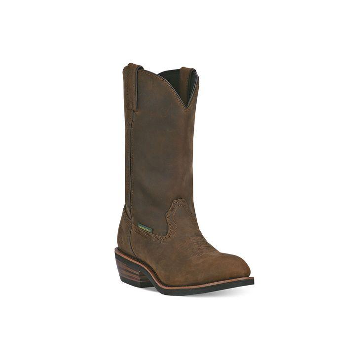 Dan Post Albuquerque Men's Waterproof Steel-Toe Boots, Size: medium (11.5), Brown, Durable