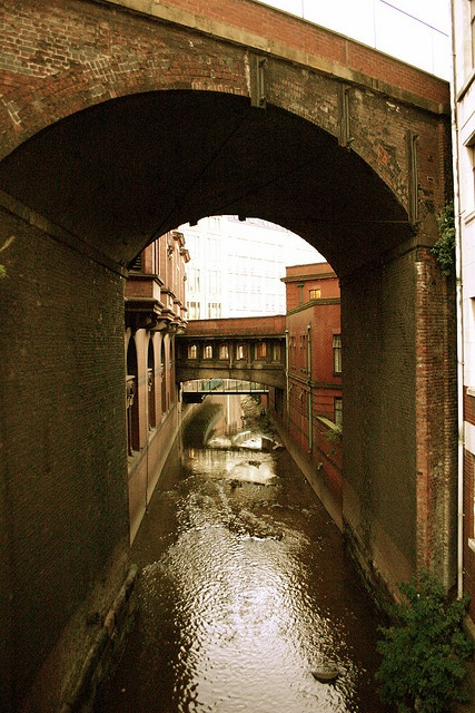 Manchester's river canal