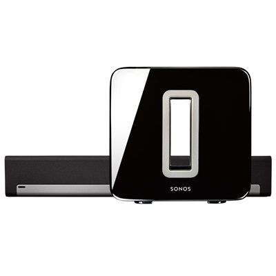 Sonos 3.1 Home Theater for living room tv - playbar and bass