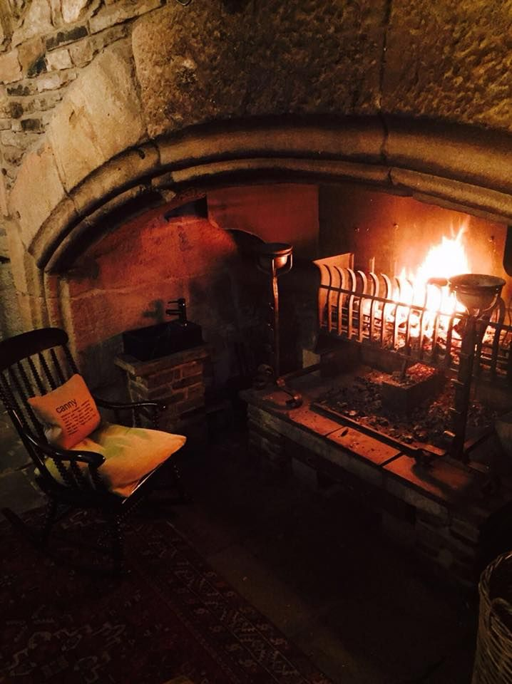 Always A Cosy Fire At The Lord Crewe Arms In Blanchland Northumberland England