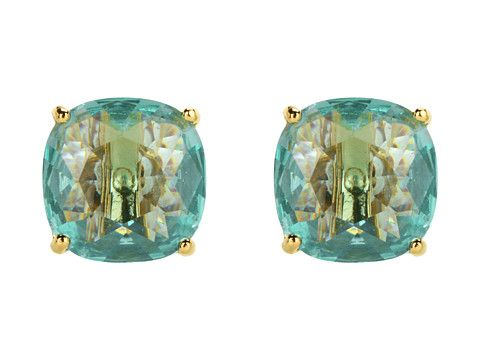 Kate Spade New York Small Square Studs (Blue)