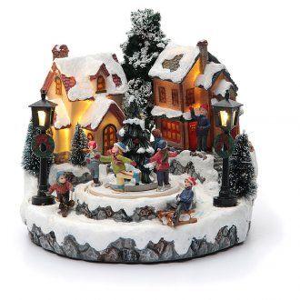 Villaggio di Natale Girotondo albero diametro 20 cm