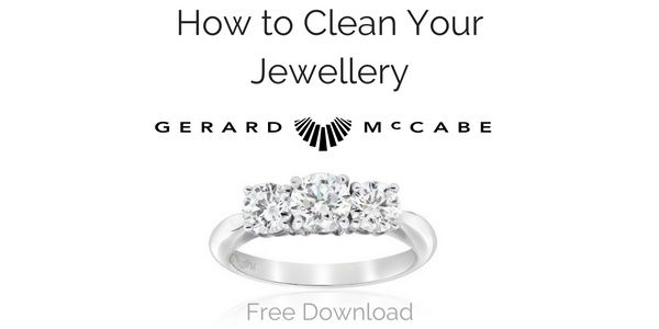 Learn how to clean your jewellery with Gerard McCabe