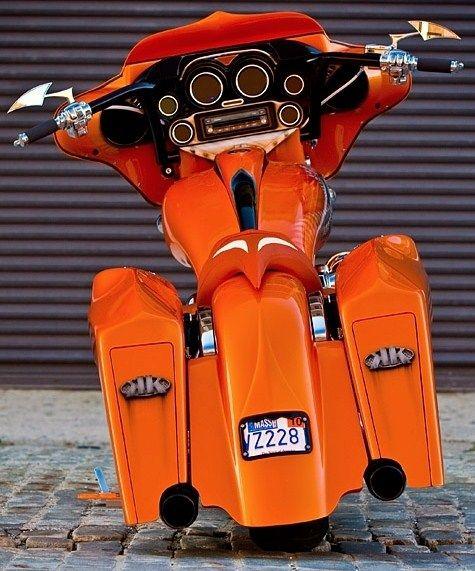 Orange Harley!