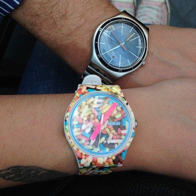 #Swatch: Sweet Classic, Preciosidadenestadopuro Sweet, Ignaciochampion Ignacio, Swatch Yanirup, Swatch Clocks, Summer Preciosidadenestadopuro, Yanirup Swatch, Swatch Summer, Instagram Photo