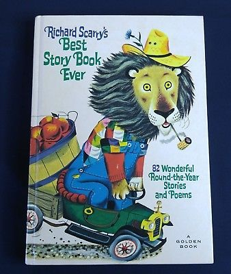 Richard Scarry Childrens Best Story Book Ever 82 Stories Hardcover Goldenbook