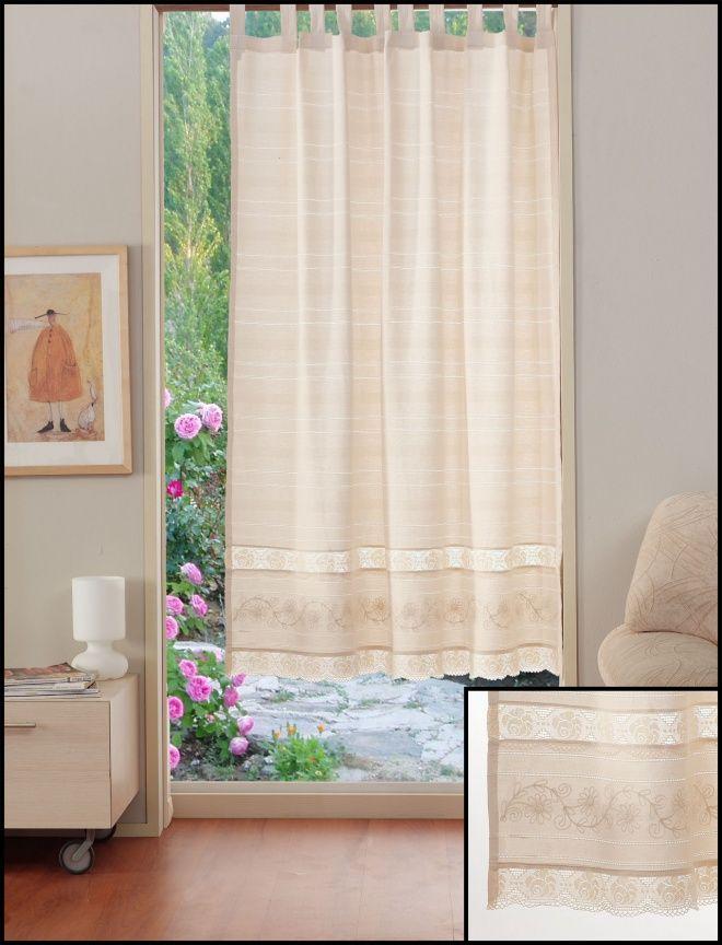 Perdeaua Valentini Bianco PR014 ofera spatiului umbra de care este nevoie in zilele cu mult soare. Perdeaua este confectionata din bumbac, are sistem de prindere cu bride si este disponibila pe mai multe dimensiuni. http://goo.gl/P6D1Gw