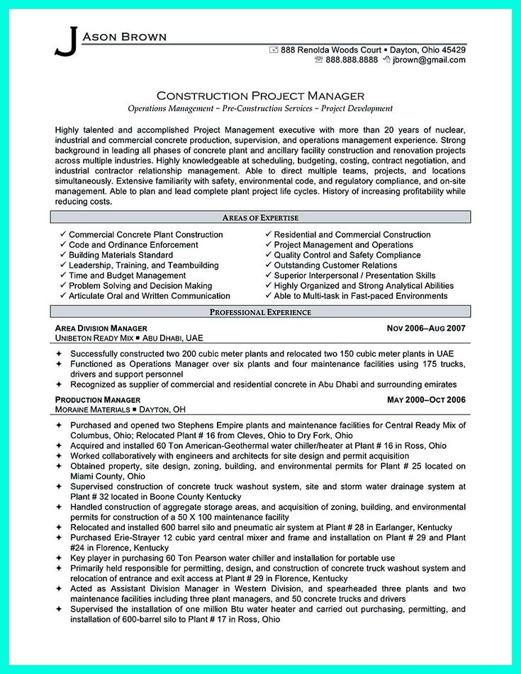 7 best resume vernon images on pinterest construction worker production worker resume